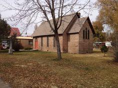 St. Steven the Martyr Episcopal Church, in the village of Monte Vista Colorado.