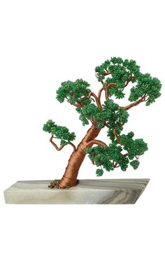 Tree Sculpture with Ming Tree™ Seed Beads