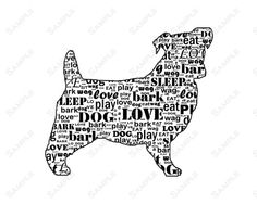 PERSONALIZED Jack Russell Terrier Dog Jack Russell by PetGifts