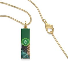 This single loop necklace emphasizes individuality with a classic aesthetic. Chakra Necklace, Pendant Necklace, Heart Chakra, Classic, How To Make, Etsy, Jewelry, Derby, Jewels