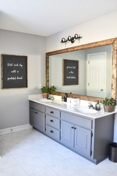 Farmhouse Master Bathroom Makeover done for $100! (15 of 31)