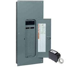 Square D By Schneider Electric Qo Plug On Neutral 150 Amp Main Breaker 30 Space 30 Circuit Indoor Load Center With Cover Read Electrical Equipment