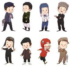 Kurts outfits 2