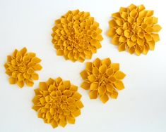 SMILES: Felt Flowers