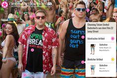 Channing Tatum (Jenko) Badeshorts (Quiksilver - Kelly Roam 21 Boardshorts) aus dem Film 22 Jump Street