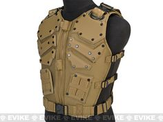 Matrix Cobra Warrior High Speed Body Armor - Tan, Tac. Gear/Apparel, Body Armor & Vests, Tan / Desert - Evike.com Airsoft Superstore