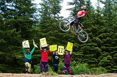 Evan Schwartz, Curtis Robinson, Mason Mashon, Kyle Norbraten and Callum Jelley in Whistler, B.C.