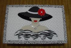 Dama com chapéu