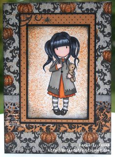 Halloween Gorjuss Girl by KathiR - Cards and Paper Crafts at Splitcoaststampers