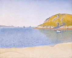 Saint-Cast, Port; 1890, Paul Signac, Museum of Fine Arts, Boston