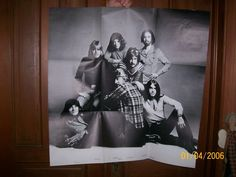 RARE Vintage 1970's Chicago Band Columbia Records Rock/Pop B&W Litho Poster in Entertainment Memorabilia, Music Memorabilia, Rock & Pop, Artists C, Other Rock & Pop Artists C | eBay