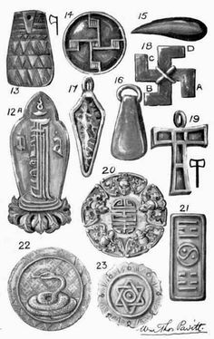 Wiccan Symbols For Protection | Amulets, Talismans ...