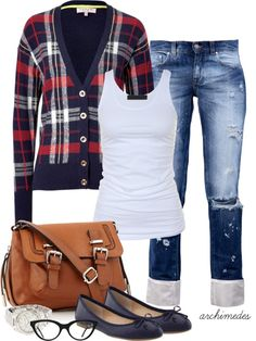 """Get To Class"" by archimedes16 on Polyvore"