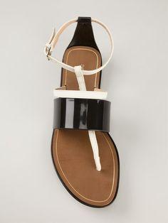 Sergio Rossi Strappy Flat Sandals - Jofré - Farfetch.com