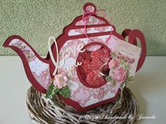 Original handmade by Janneke: Tea time