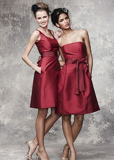 christmas bridesmaid dress