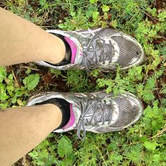 My shoes after my first trail run!  Looks and feels amazing.