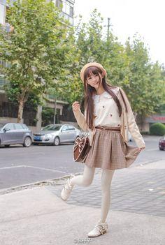 2016 fall new women's tights high quality japanese style cartoon cat printing velvet pantyhose for women gift pantyhose Kawaii Fashion, Lolita Fashion, Cute Fashion, Girl Fashion, Mode Kawaii, Kawaii Girl, Cute Cosplay, Cosplay Girls, Cute Asian Girls