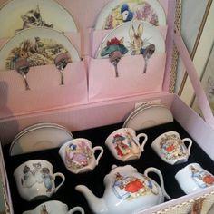 Beatrix Potter Tea Set