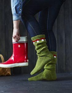Here 's how to make socks for a mushroom fan Home Photo Magazine - Super knitting Wool Socks, My Socks, Knitting Socks, Hand Knitting, Knitting Ideas, How To Make Socks, Leg Warmers, Dressmaking, Mittens