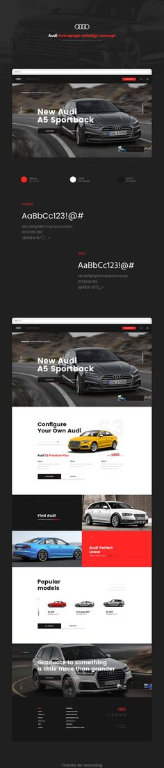 Awesome Audi 2017: Audi homepage. Redesign Concept. on Behance...  Layout design Check more at http://carsboard.pro/2017/2017/03/11/audi-2017-audi-homepage-redesign-concept-on-behance-layout-design/