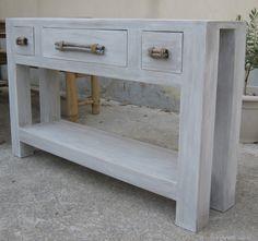table console de cuisine terminée ! - meubles en carton marie