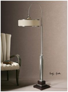 Amerigo Round Drum Floor Lamp One's Nest