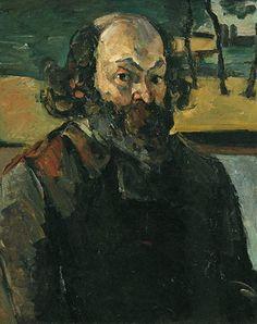 Portrait de l'artiste Paul Cézanne,1875 Huile sur toile 64 x 53  Paris, Musée d'Orsay