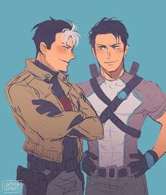 Red Hood & Agent 37. Jason Todd & Dick Grayson.