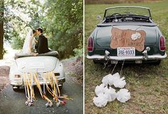 Bride-In-Dream: How To Make Your Wedding Car Different