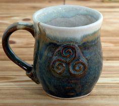Handmade Ceramic Mug Made In Ireland Pottery Cup by TruIrish