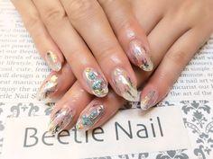 Nail Art - Beetle Nail : 八幡|ホイルネイル