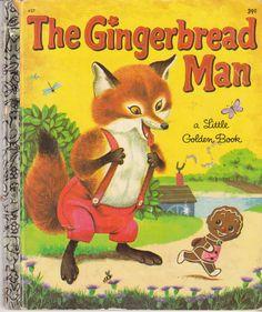 The Gingerbread Man 1969 Little Golden Book Richard Scarry Nancy Nolte LGB 437