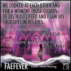Review — Faefever by Karen Marie Moning Jericho Barrons