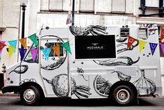 Food Truck de antojitos mexicanos.