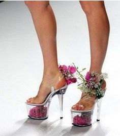Dig out your Lucite heels and Miu Miu mini-dress. Somebody is so freaking mad about Greg Fischer flip-flopping on JCPS's student assignment plan that he made a video and set it to techno trance. Creative Shoes, Unique Shoes, Crazy Shoes, Me Too Shoes, Weird Shoes, Hooker Heels, Funny Shoes, Clear Shoes, Stripper Heels