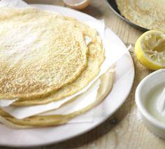 Yay for pancake day! The classic pancake recipe - Recipes - BBC Good Food Classic Pancake Recipe, Perfect Pancake Recipe, Pancakes Easy, Pancakes And Waffles, Scotch Pancakes, Making Pancakes, Beignets, Bbc Good Food Recipes, Cooking Recipes
