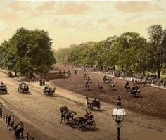 """""""I never ride in from Hyde Park Corner… but the ghosts of an army of horsemen ride with me,"""" wrote Roland Collins in If the ghosts of all those who have ridden or driven in Hyde Park were visible, it would create the ultimate pageant of British history. London History, British History, Historical Romance Authors, Hyde Park Corner, London Landmarks, Regency Era, Old London, Famous Places, West End"""