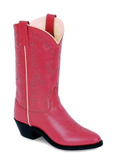 Pink cowgirls boots