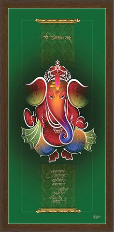 Ganesh Paintings Ganesh Lord, Shri Ganesh, Ganesha Painting, Buddha Painting, Shiva Art, Hindu Art, Ganesha Pictures, Rangoli Ideas, Indian Art Paintings