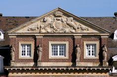 Giebel am Mittelbau - Schloss Nordkirchen