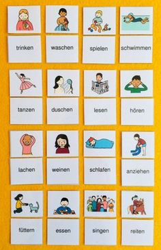You can find this and many other free learning materials from the world German Grammar, German Words, Learn German, Learn French, Teaching French, Teaching Spanish, Spanish Activities, German Resources, German English