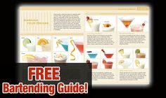 Awesome Bartending Guide on http://pocketcocktails.com #thanksgivingmixology