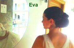 Nuestra estilista y modelo Eva! Sobran las palabras!! #sesiondefotoshecatenovias #ciudadreal