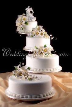 wedding cakes unstac