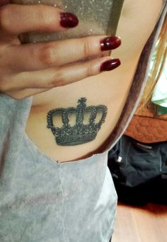 nudding to step to — Crown tattoo all healed. Done by Jenn at New Tribe...