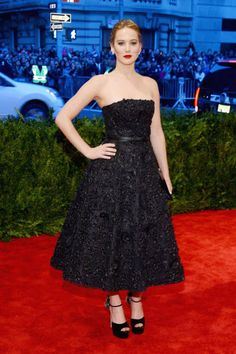 Met Gala 2013 - Jennifer Lawrence in Dior.