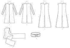 M7422 (Line Art) | McCall's Patterns (Kylo Ren Inspired)