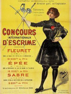 Concours Internationaux S'Escrime Women's by Vintagemasters, $19.95