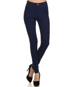 Love this Royal Blue Jeggings - Women on #zulily! #zulilyfinds
